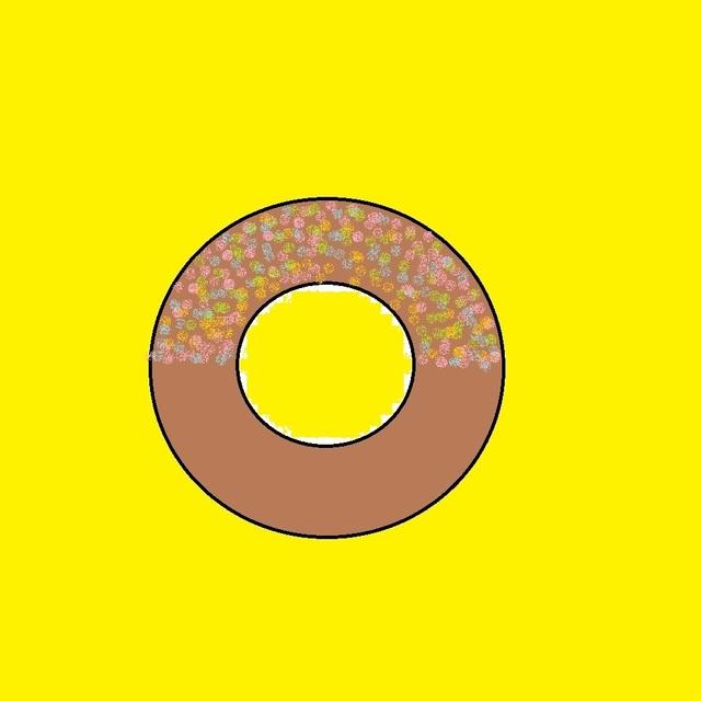 ドーナッツのイラスト
